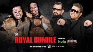 The Usos v The Miz and Mizdow - Royal Rumble 2015 - WWE Network