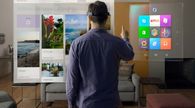 Introducing Windows Holographic with the Microsoft HoloLens