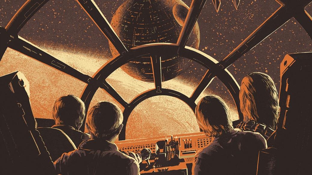 star wars print by juan esteban rodriguez