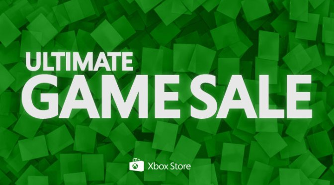 Xbox Ultimate Games Sale now live!