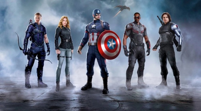 Captain America: Civil War trailer released