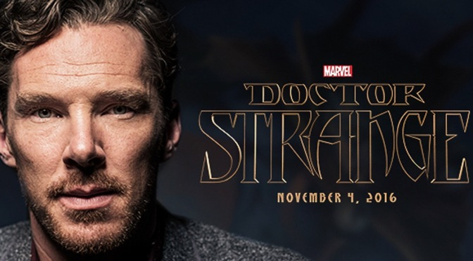 First glimpse of Benedict Cumberbatch as Dr Strange