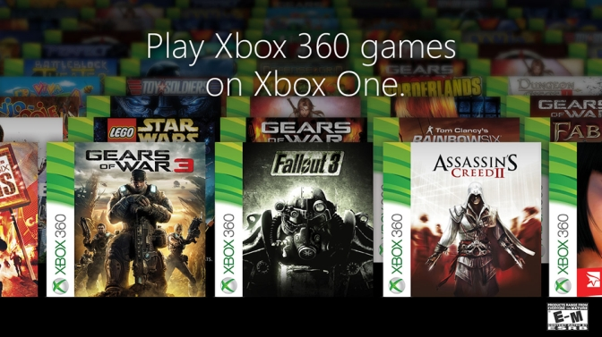 Xbox One Compatibility coming soon. REAL soon.