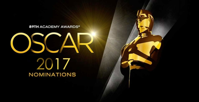 2017 Oscar Nominations released
