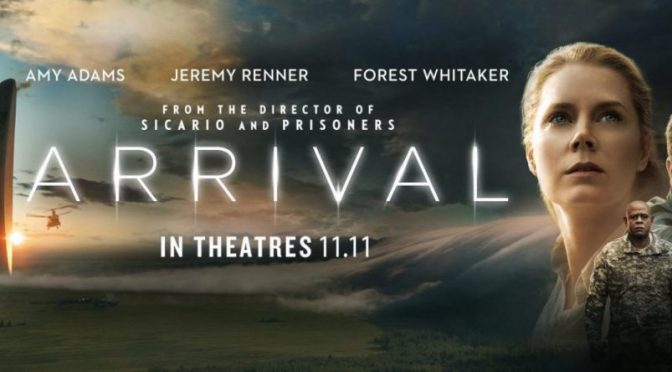 Arrival movie review – Amy Adams lights up the stars with Jeremy Renner
