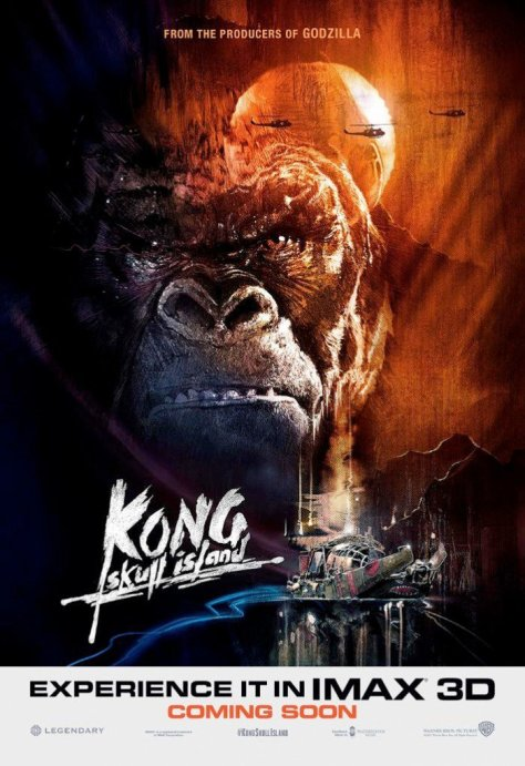 Kong Skull Island IMAX Poster